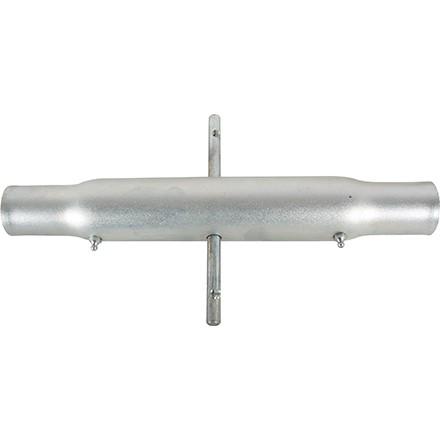 Oberlenkerrohr Gewinde M30x3,0mm Hülsenlänge 500mm in schwerer Ausführung mit Schmiernippel