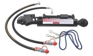 Hydr. Oberlenker-Set Kat 2 Fanghaken+Kugelauge Arbeitslänge 620-920mm sehr stabile Ausführung