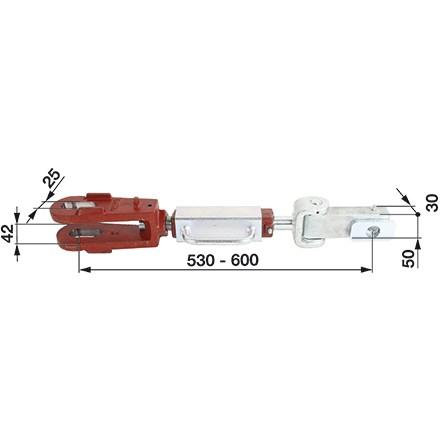 Hubstrebe 42mm passend für Steyr Schleppertypen 8045, 8055, 8060, 8070 in Top Qualität