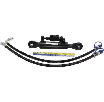 Hydr. Oberlenker-Set Kat 1 beidseitig mit Kugelkopf Arbeitslänge 530-810mm in Top Qualität