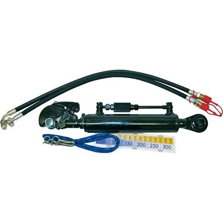Hydr. Oberlenker-Set Kat3/2 Fanghaken+Kugelauge Arbeitslänge 700-1061mm in schwerer Ausführung