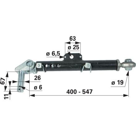 Stabilisator für CASE und NEW HOLLAND Schleppertypen in Top Qualität