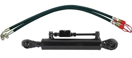 Hydr. Oberlenker-Set Kat 2 beidseitig mit Kugelkopf in Top Qualität Arbeitslänge 450-640mm